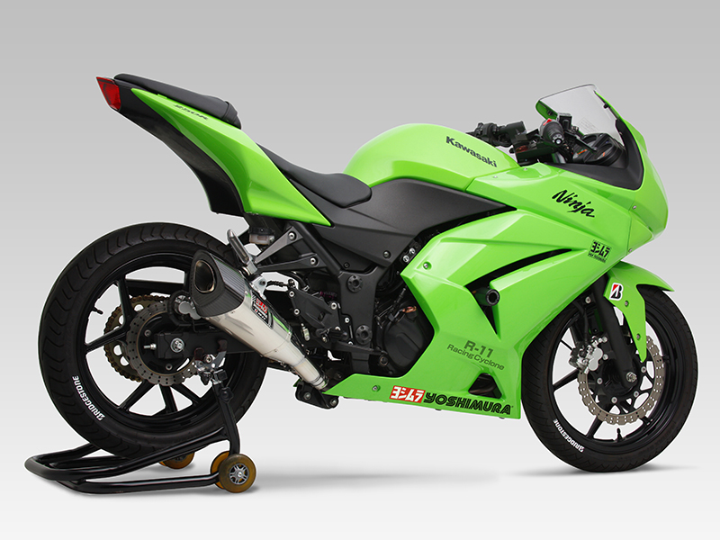 【YOSHIMURA】R-11 Racing Cyclone 1 End Ninja 250R (08-12)排氣管尾段 - 「Webike-摩托百貨」