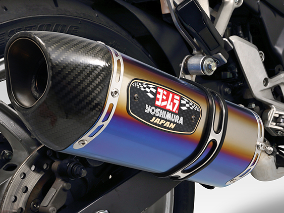【YOSHIMURA】R-77S EXPORT SPEC Cyclone排氣管尾段(碳纖維尾蓋) - 「Webike-摩托百貨」