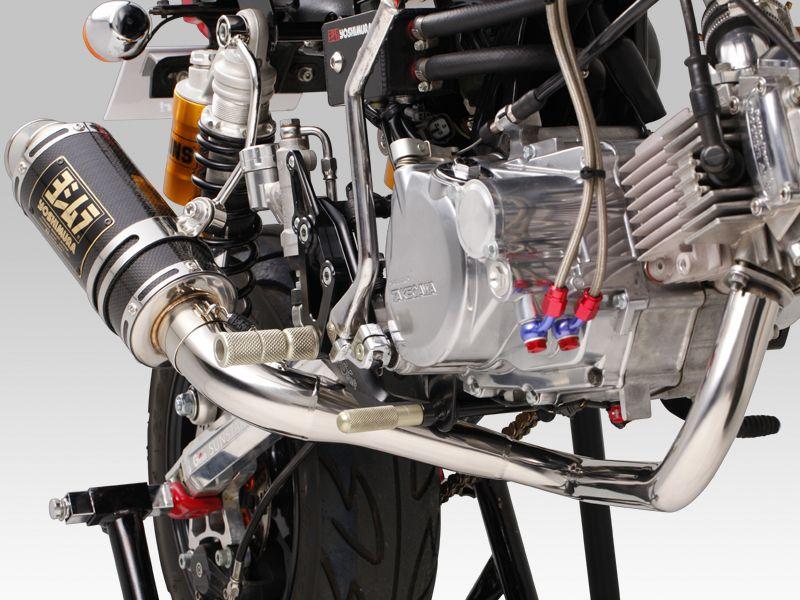 【YOSHIMURA】機械加工彎管競賽型CYCLONE GP-MAGNUM排氣管 - 「Webike-摩托百貨」