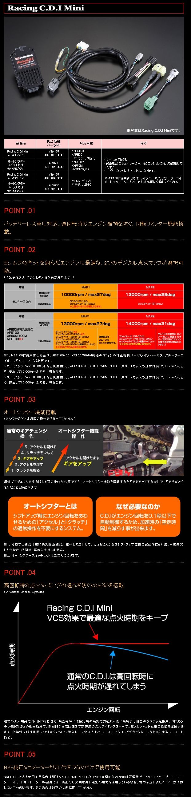 【YOSHIMURA】自動變速支架組 MONKEY用 - 「Webike-摩托百貨」