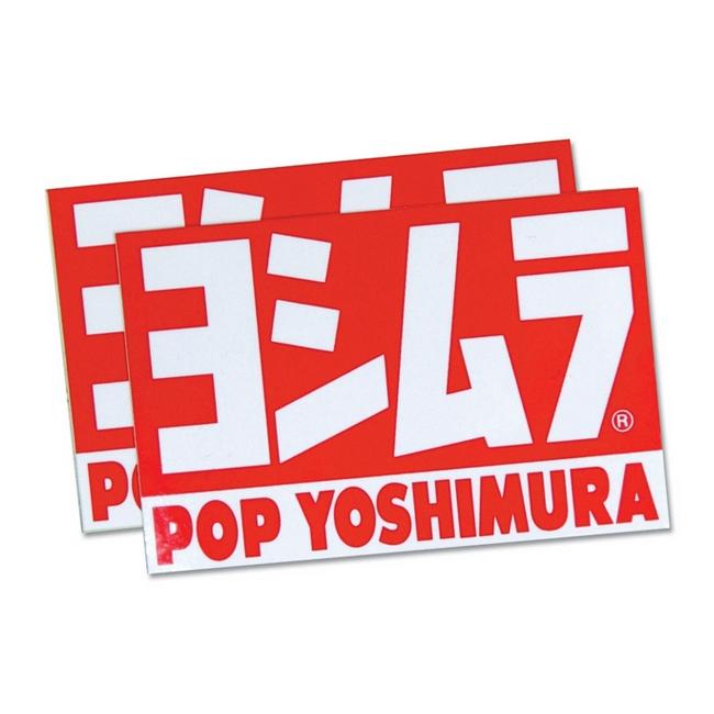 【YOSHIMURA】POP YOSHIMURA貼紙 - 「Webike-摩托百貨」