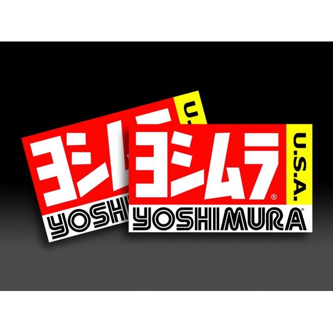 【YOSHIMURA】美國Yoshimura 貼紙組 - 「Webike-摩托百貨」
