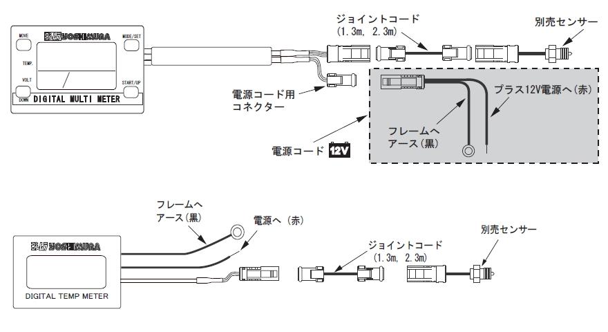 【YOSHIMURA】轉接頭配線組1.3m單品 - 「Webike-摩托百貨」