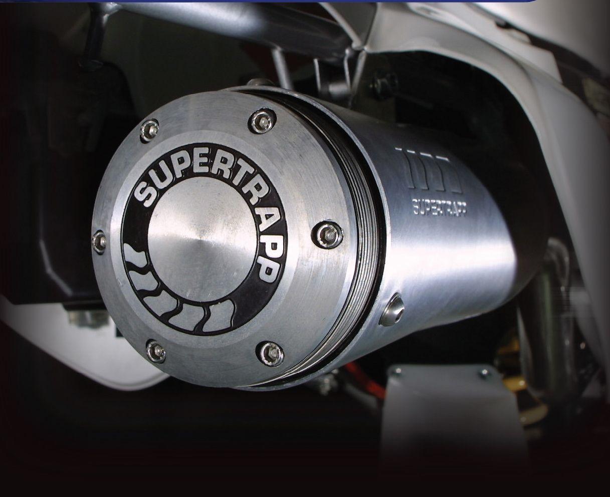 【SUPER TRAPP】4吋鋁合金消音器 - 「Webike-摩托百貨」