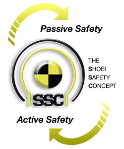 SHOEI 「Passive Safety」と「Active Safety」の融合