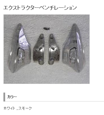 【SHOEI】Extractor 透氣閘 - 「Webike-摩托百貨」