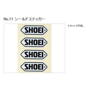 NO.11 Shield Sticker SHOEI