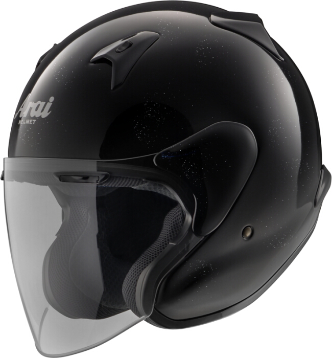 【Arai】MZ-F XO 亮黑色 四分之三安全帽 - 「Webike-摩托百貨」