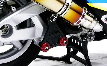 【WirusWin】短版全段排氣管専用鋁合金圓柱支架 黑色版 - 「Webike-摩托百貨」