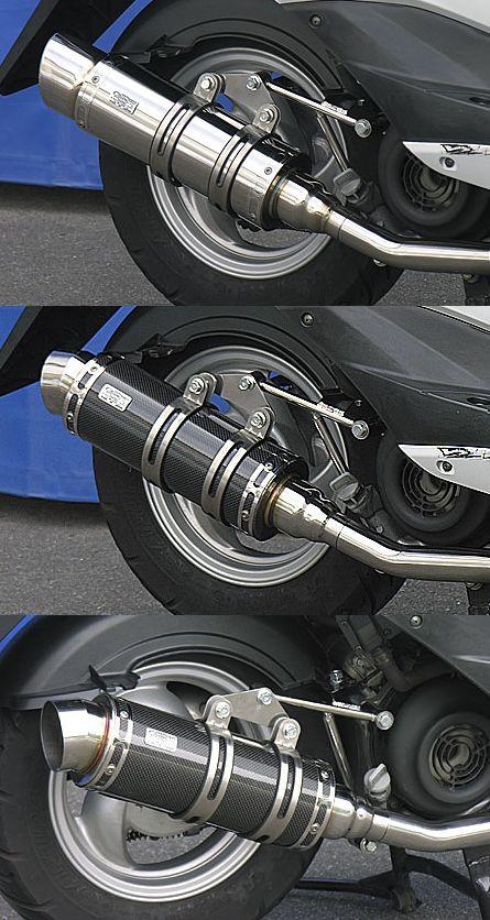 【WirusWin】Royal全段排氣管 Popper型 黑色碳纖維款式+加高套件 附觸媒 (排氣淨化觸媒) - 「Webike-摩托百貨」