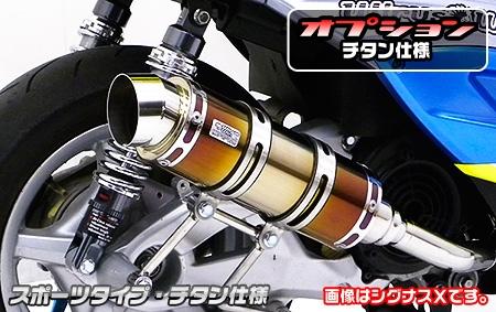 【WirusWin】排氣管尾段 Spotrs型 - 「Webike-摩托百貨」