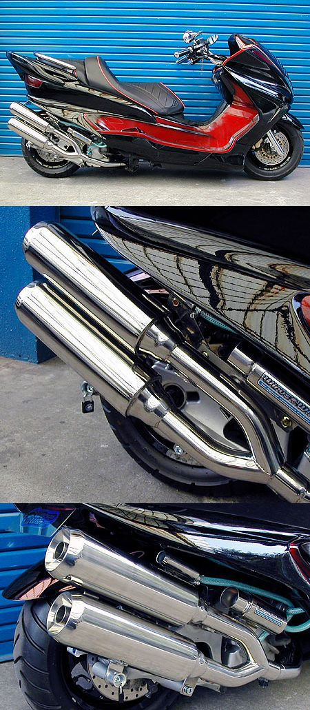 【WirusWin】雙出全段排氣管 Jet型 - 「Webike-摩托百貨」