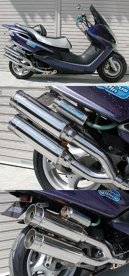 【WirusWin】雙出全段排氣管 火箭筒型 附觸媒 (排氣淨化觸媒) - 「Webike-摩托百貨」