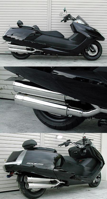 【WirusWin】Stylish雙出全段排氣管 火箭筒型 - 「Webike-摩托百貨」