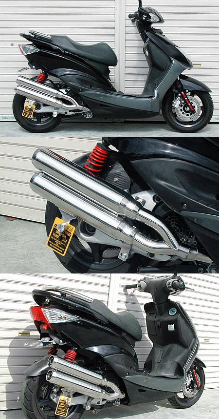 【WirusWin】Stylish雙出全段排氣管 Jet型 附觸媒 (排氣淨化觸媒) - 「Webike-摩托百貨」