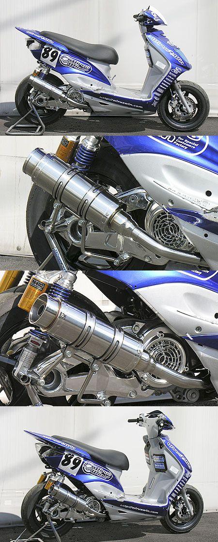 【WirusWin】Style UFO聯名款全段排氣管 火箭筒型 - 「Webike-摩托百貨」