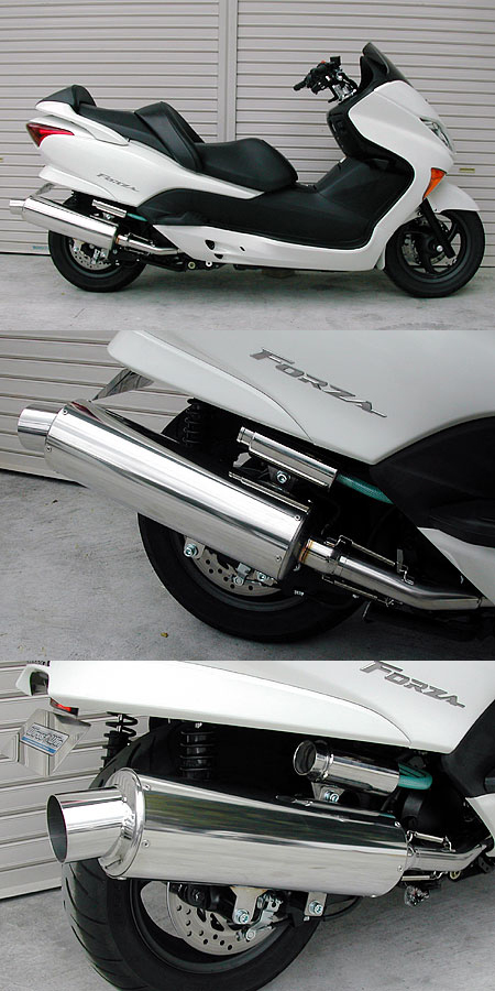 【WirusWin】Marvelous RACING全段排氣管 重低音版附觸媒 (排氣淨化觸媒) - 「Webike-摩托百貨」