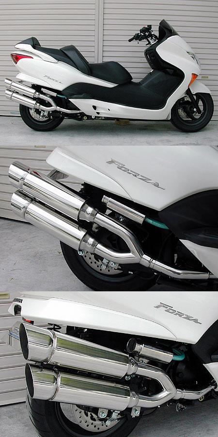 【WirusWin】雙出全段排氣管 Popper型 附觸媒 (排氣淨化觸媒) - 「Webike-摩托百貨」