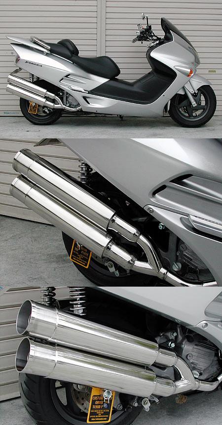 【WirusWin】Stylish雙出全段排氣管 火箭筒型 附觸媒 (排氣淨化觸媒) - 「Webike-摩托百貨」