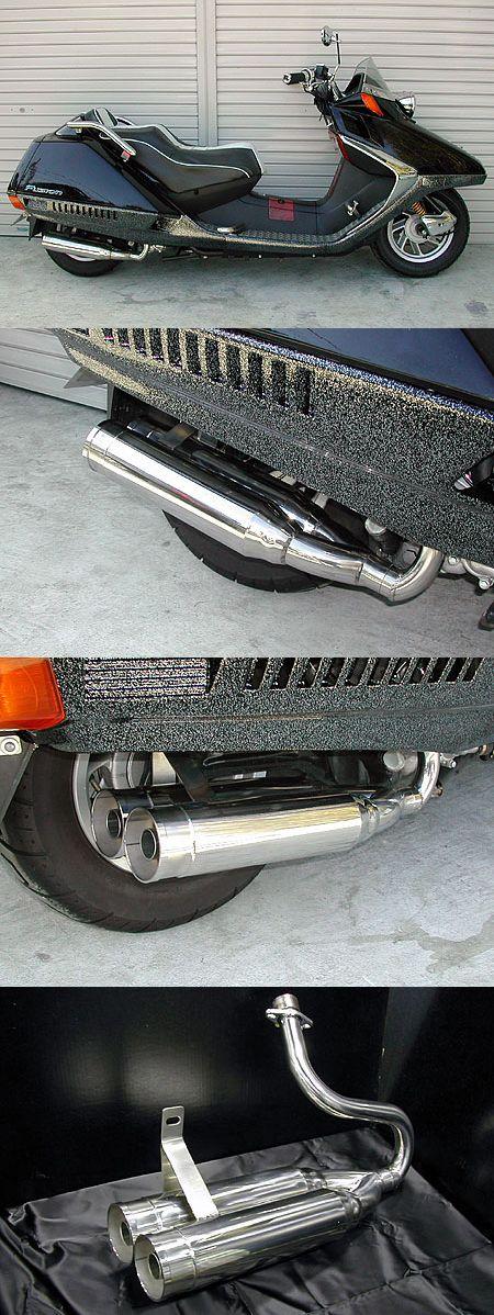 【WirusWin】雙出全段排氣管 火箭筒型 - 「Webike-摩托百貨」