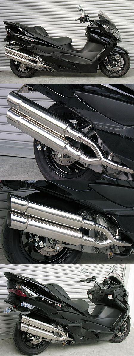 【WirusWin】Stylish雙出全段排氣管 Popper型 - 「Webike-摩托百貨」