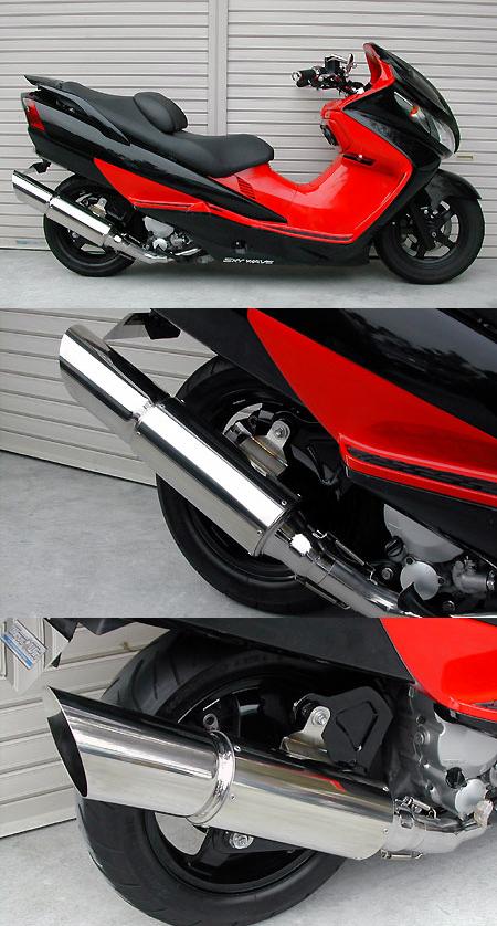 【WirusWin】Big Cannon全段排氣管 重低音版 - 「Webike-摩托百貨」