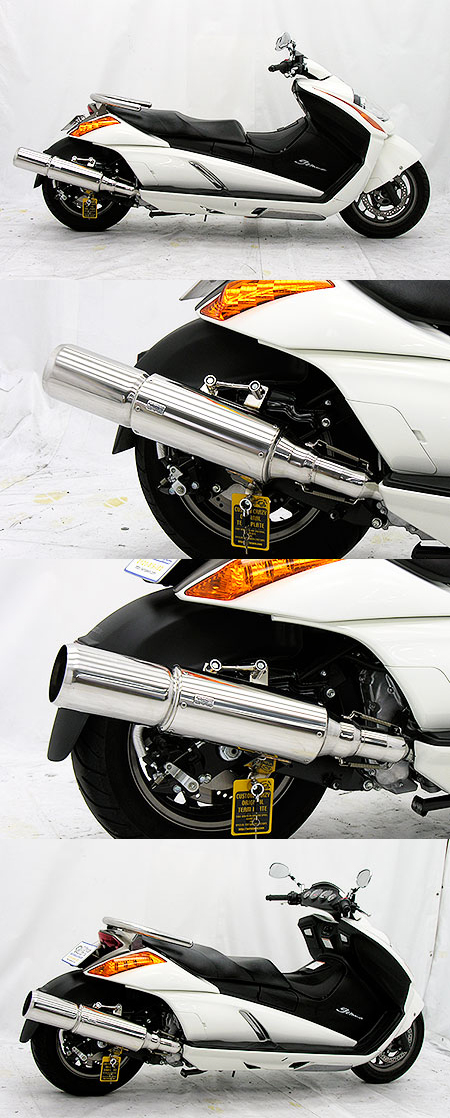 【WirusWin】Big Bomber全段排氣管 重低音版 - 「Webike-摩托百貨」