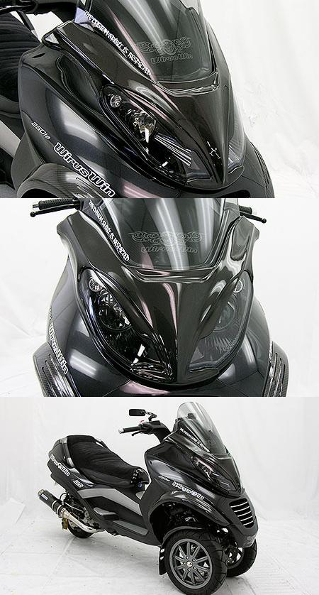 【WirusWin】碳纖維頭燈罩 - 「Webike-摩托百貨」