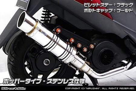 【WirusWin】Anniversary全段排氣管 Popper型 - 「Webike-摩托百貨」