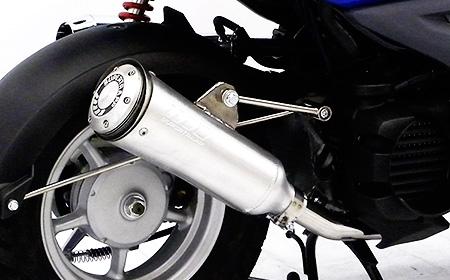 【WirusWin】BWS50用 Super Trap全段排氣管 - 「Webike-摩托百貨」