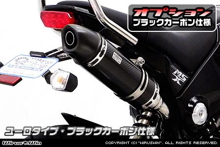 【WirusWin】Royal排氣管尾段 Euro型 黑色碳纖維款式 - 「Webike-摩托百貨」