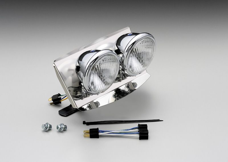 【HURRICANE】4.5複合式頭燈 套件 - 「Webike-摩托百貨」