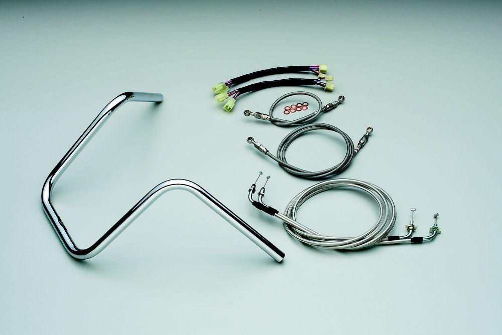 【HURRICANE】300APE Hanger3型把手套件 - 「Webike-摩托百貨」