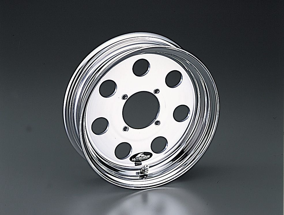 【HURRICANE】10英吋 鋁合金輪框 - 「Webike-摩托百貨」