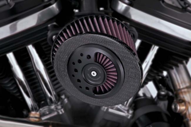 【VANCE&HINES】RSD SLANT CARBON AIR INTAKE 空濾套件 - 「Webike-摩托百貨」