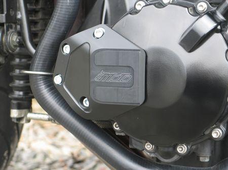 【GSG MOTOTECHNIK】車架保護滑塊 (防倒球) Plate L Type - 「Webike-摩托百貨」