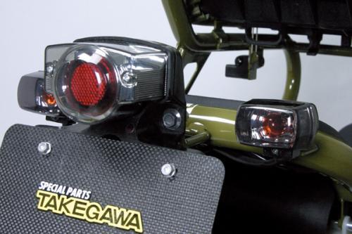 【SP武川】Blaze  HONDA方形方向燈(2個/組t/燻黑) - 「Webike-摩托百貨」
