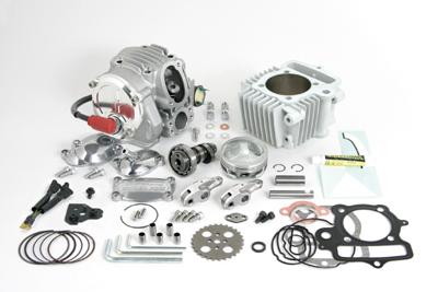 【SP武川】雙火星塞點火超級汽缸頭+R SCUT 106cc加大缸徑套件  - 「Webike-摩托百貨」