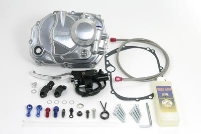 【SP武川】離合器外蓋套件 (鋁合金/油壓型/無傳動齒) - 「Webike-摩托百貨」
