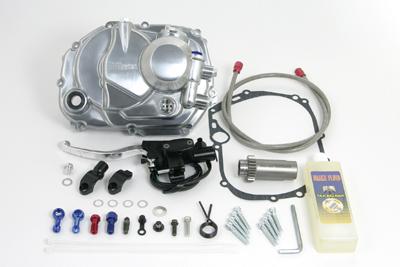【SP武川】離合器外蓋套件 (鋁合金/油壓型/附傳動齒) - 「Webike-摩托百貨」