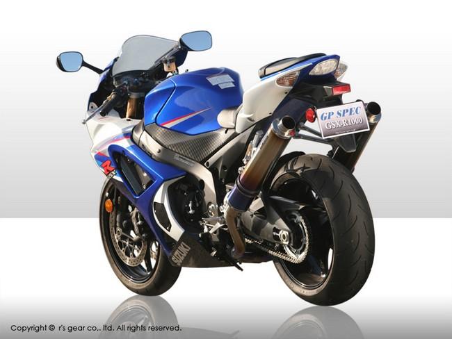 【r's gear】GP SPEC全段排氣管 - 「Webike-摩托百貨」