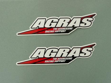 【AGRAS】AGRAS貼紙 - 「Webike-摩托百貨」