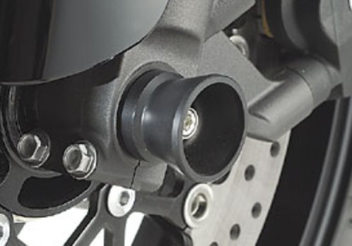 【AGRAS】前輪軸保護滑塊(防倒球) - 「Webike-摩托百貨」