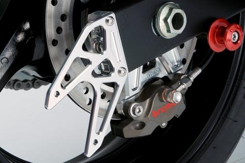 【AGRAS】鍊條 調整器外蓋(附駐車架支撐板) - 「Webike-摩托百貨」