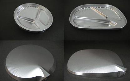 【antlion】削切加工後視鏡 角型/右/逆螺絲 - 「Webike-摩托百貨」