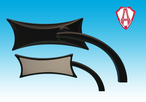 【EASYRIDERS】【Allen Ness製】Ness Four Point 後視鏡 - 「Webike-摩托百貨」