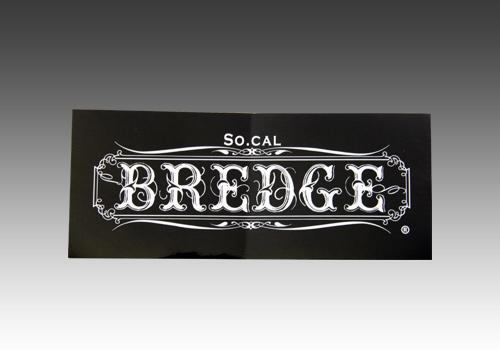 【BREDGE】BREDGE貼紙【小】 - 「Webike-摩托百貨」