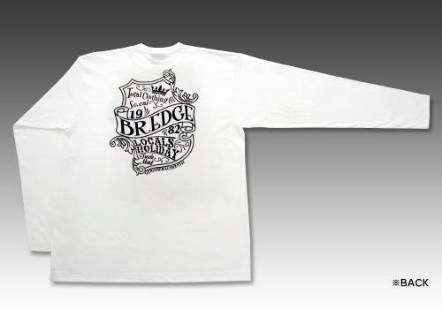 【BREDGE】EMBLEM 長袖T恤 - 「Webike-摩托百貨」
