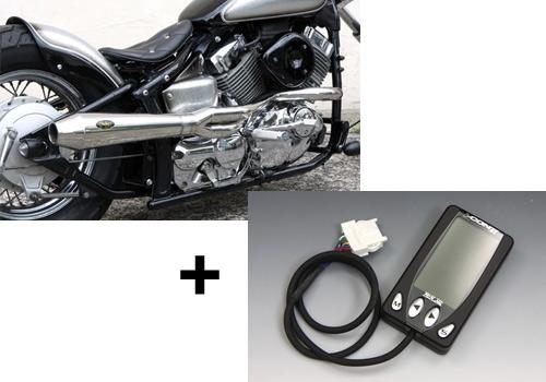 【EASYRIDERS】BOSSLEY Reventon Header 全段排氣管& I-CON2 組 - 「Webike-摩托百貨」