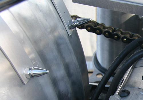 【EASYRIDERS】鍍鉻錐型螺帽組 (3/8-24) - 「Webike-摩托百貨」